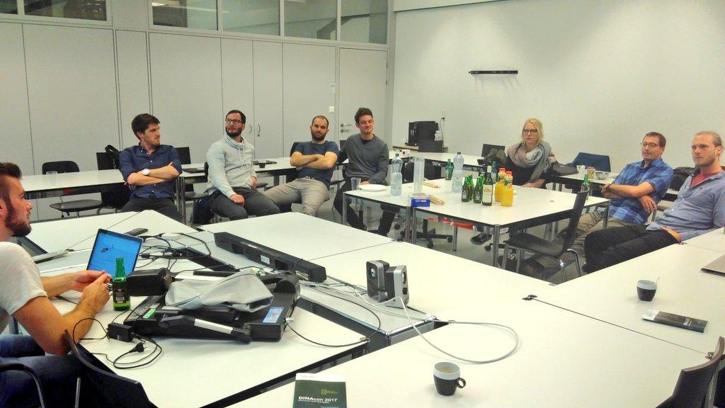 After DataViz Group Session mit Bier