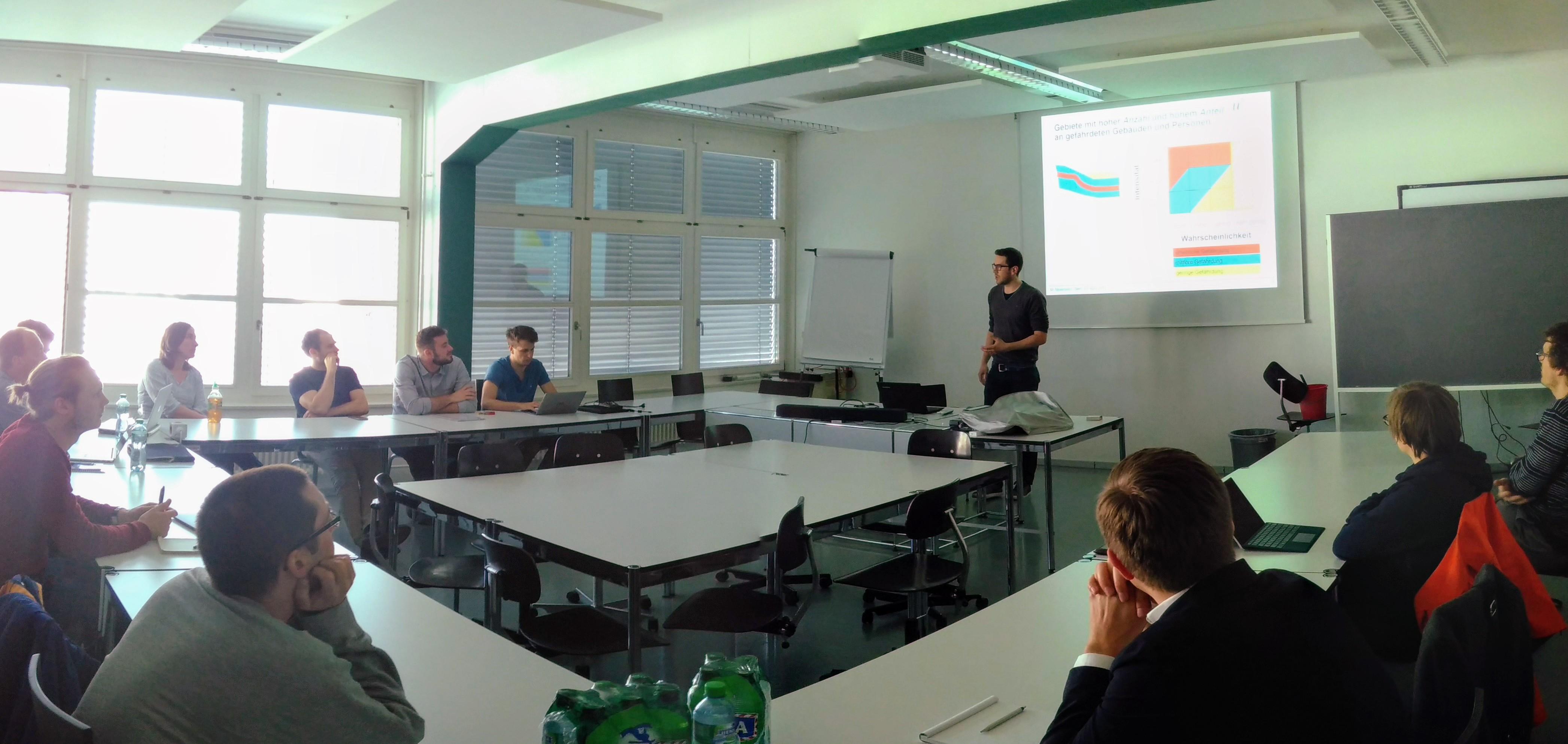 Kurzvortrag von Markus Mosimann bei DataViz Treffen