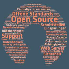 Titelblatt Open Source Studie 2015