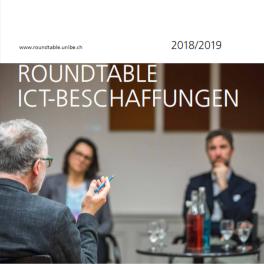 Titelblatt Roundtables ICT-Beschaffungen