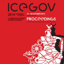 Titelblatt Theory and Practice of Electronic Governance (ICEGOV)
