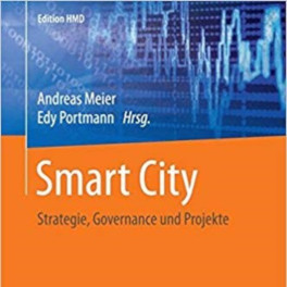 Titelblatt Smart City - Strategie, Governance und Projekte