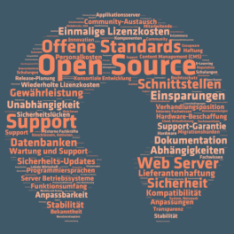 Titelblatt Open Source Studie 2015