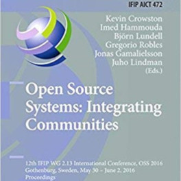 Titelblatt Open Source Systems 2016