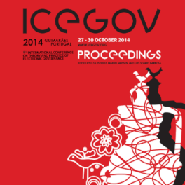 Titelblatt Theory and Practice of Electronic Governance (ICEGOV)